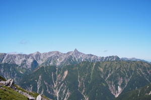 北アルプス登山の旅7常念岳~蝶ヶ岳 - * Unknown Life