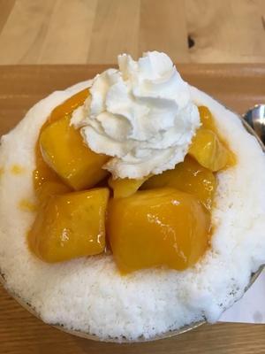時々すごく食べたくなる…「Cafe du Riche」マンゴーピンス☆新大久保 - くちびるにトウガラシ
