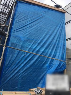 上棟 - 大崎建築のスタッフブログ│高知県の新築木造住宅・リフォームなどを手がけています。
