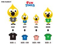 親子でお揃いのオシャレなオリジナルTシャツが買える子供服ブランド - オリジナルTシャツの作れる子供服ブランドサイト