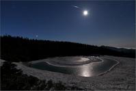 イリジウムフレアとドラゴンアイの夜明け - 遥かなる月光の旅