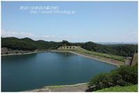 真夏の城山湖 - 明日には明日の風が吹く