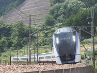 笹子にて、E353系試運転撮影 - 富士急行線に魅せられて…