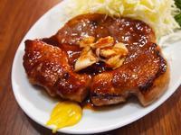 甘辛にんにく醤油のトンテキ - sobu 2