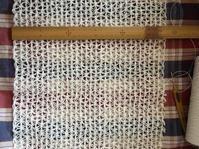 Wネット模様編みショール2017…その5 - いととはり