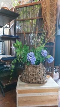藍いろ古布展 - 古布や麻の葉
