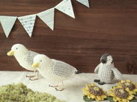 夏の鳥たち - Chi・Chiのてしごと日和