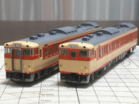 TOMIX国鉄キハ66・67 - マルコ脱落者の空飛ぶかんがるーNゲージ鉄道模型編(by tabi-okane)