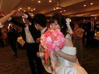 新郎新婦様からのメール シャクヤクのブーケ、ホテル椿山荘東京の花嫁様より - 一会 ウエディングの花