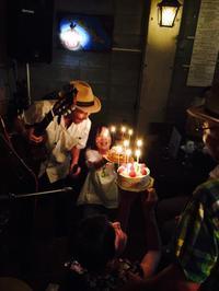 ムーチョさんの誕生日記念公演にご来場感謝 - マコト日記