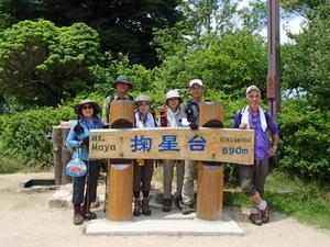 猛暑の中、新神戸~天狗道~摩耶山へ -