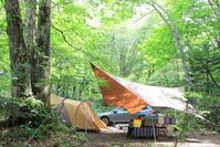 夏の岐阜県キャンプ - 平日、会社を休んだら