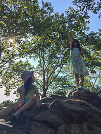 夏休みの子供たち・日本語環境 - NY/Brooklynの空の下