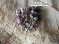 まだまだある、布花の魅力♪ - 愛知 豊橋 布花アクセサリーCendrillon