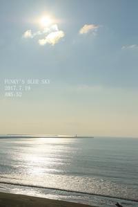 朝の海で♪ ・ Ⅰ - FUNKY'S BLUE SKY