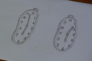 靴木型に柔らかい時計。。。 -