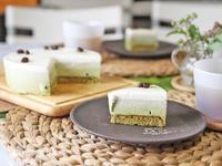 抹茶ババロアレッスン - 美味しい贈り物