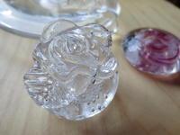 お嫁入り…ガラス文鎮「風花」 - petit verre journal