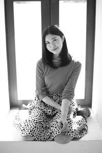 山本萌子ちゃん11 - モノクロポートレート写真館