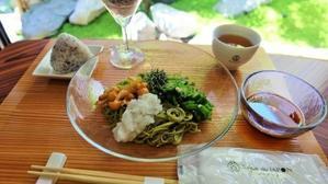 2017夏季限定ランチ登場?冷しぶっかけ抹茶素麺? -