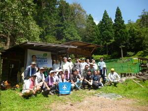 フォレスター松寿4名がささやま里山再生活動に参加しました -