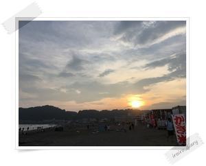 BIGBANG BEACHでSUNSET GLOW⑨メガネGDと夜の海♪ - **いろいろ日記**