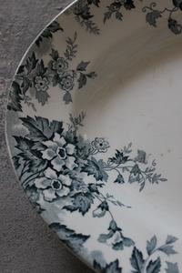 林檎の花柄オーバル皿 - 私の部屋から.....