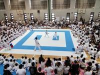 過去最多の来場者!!  第3回合同練習会(小中学生対象) - 大阪学芸 空手道応援ブログ