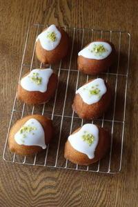 レモンのケーキ&ココナッツミルク・アイスバー - Baking Daily@TM5