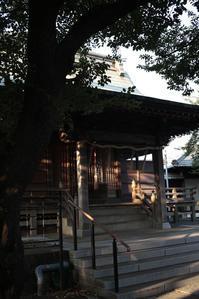 すこし、夕風が出てきました ~春ノ木神明社~  - 鴉の独りごと