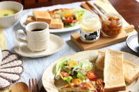 手づくりキッシュで朝ごパン と...カブ太郎☆ - キラキラのある日々