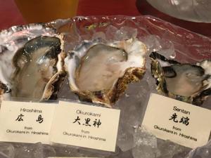 夏牡蠣 - わさびが大好き