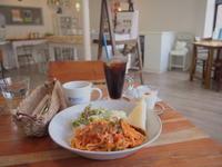 ランチセット洋食:マッキネッタ(青森市) - 津軽ジェンヌのcafe日記