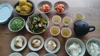 鮭茶漬け大会 - キッチンの香り