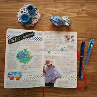 モレスキン日記 7/10-7/15 - T's Photo Diary2(Grass Field*)