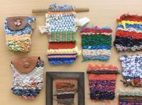 <新講座> booworksの簡単自由な手織りの小物 - ヴォーグ学園心斎橋校ブログ