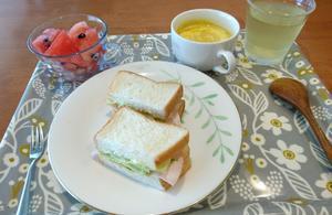 今日の朝ご飯 - おうち日記