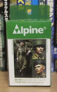 Alpine Miniatures 35178 British RAC AFV Crew #1 - Post-Retirement Modelling Life