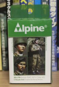 Alpine Miniatures 35179 British RAC AFV Crew #2 - Post-Retirement Modelling Life