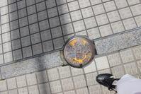 八戸のマンホール  (八戸) - 旅めぐり&花めぐり