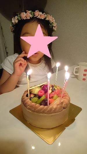5歳のお誕生日 -