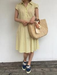 ワンピース🌻続々と入荷中〜! - 「NoT kyomachi」はレディース専門のアメリカ古着の店です。アメリカで直接買い付けたvintage 古着やレギュラー古着、Antique、コーディネート等を紹介していきます。