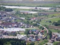 俯瞰 〜函館本線・藤城線〜 - お寺や神社、古い町並み、鉄道、他色々の写真ブログ