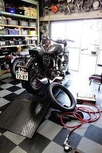土曜・日曜日の授業風景 - Vintage motorcycle study