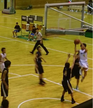 【郡大会】Part12  3日目  男女バスケットボール部 初戦ドキドキでした - 平洲中NOW29