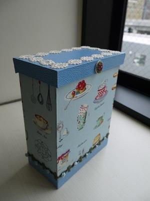 生徒さんの作品 - 大分のカルトナージュ アトリエ Axe company. のブログ