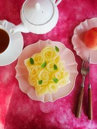 桃バラのショートケーキ♪ - This is delicious !!