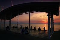 夕陽を眺めて - 湘南発〜ドラマチックに