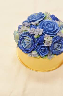 flower cake -