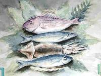 koujiさんの絵「魚」 - greensleeves.poplar
